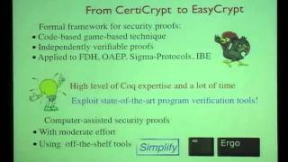 Computer-Aided Security Proofs for the Working Cryptographer (Crypto 2011)