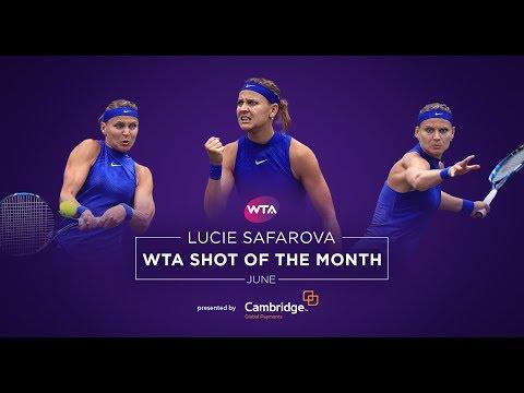 2017 WTA June Shot of the Month | Lucie Safarova