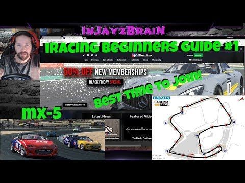 iRacing Beginners Guide #1