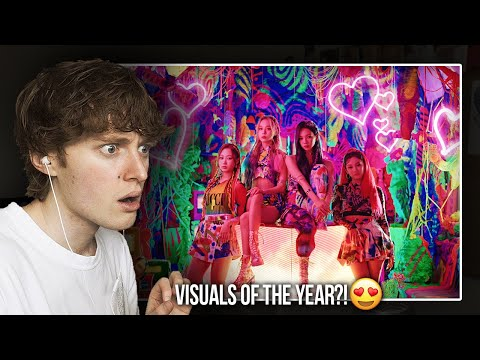 VISUALS OF THE YEAR?! (aespa (에스파) 'Black Mamba'   Music Video Reaction/Review)