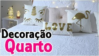 DIYs Tumblr – Pinterest – Almofadas Flamingo, Unicórnio, Love, Luminária de LED