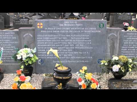 Blackstaff Press author Tom Hartley on Milltown Cemetery Belfast