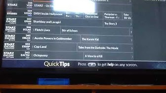 Dish Network Wally Reciever Channel Guide July 20, 2019