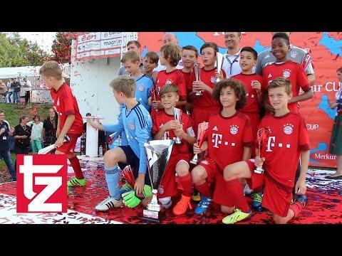 FC Bayern  2. Platz beim Merkur CUP 2016  Das sind die Highlights des FCB