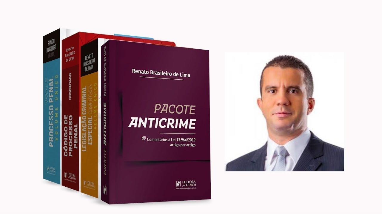 Live Nº 7   Pacote Anticrime e Crimes Hediondos.