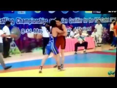 Abubakir Alimov uzb 69kg 2014