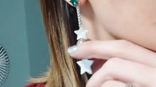 Bubble of Beauty jewelry - Handmade silver925 earrings with Swarovski crytals and pearls