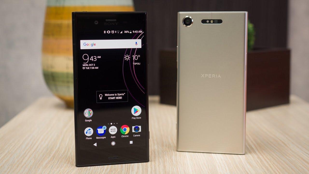 Sony Xperia XZ1 Review - YouTube