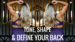 SHRED and TONE Complete Back Workout