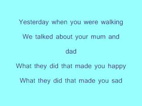 Robbie Williams -  Eternity - With Lyrics