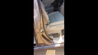 2016 Honda Odyssey - Locating the Spare Tire
