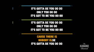 "Gotta Be You in the Style of ""One Direction"" karaoke video with lyrics (no lead vocal)"