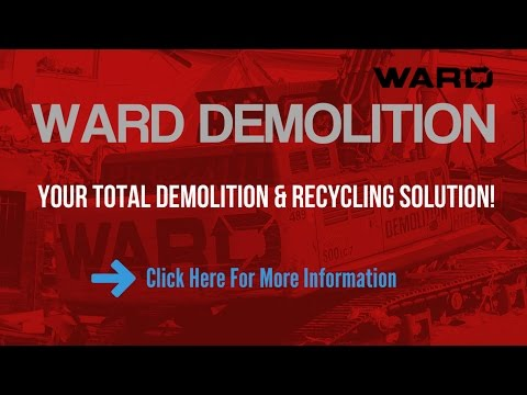 Demolition Auckland Onehunga - Ward Demolition Yards & Contractors Onehunga Auckland