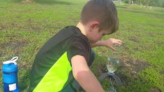 OliverLog_04092018 First Water Bottle Rocket Launch