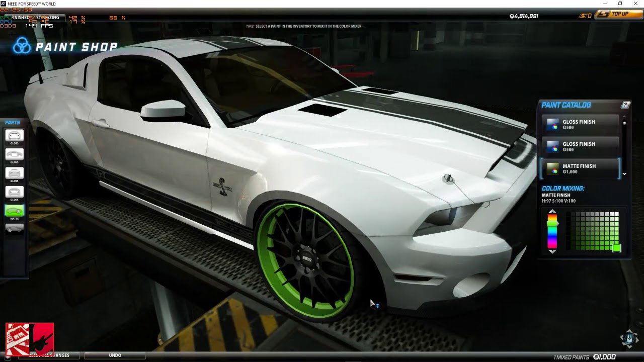 Arte Replay Mustang Live Need For Speed World Corvette Zr1 E Shelby Mustang Cobra Gt500 Uuuuhhh
