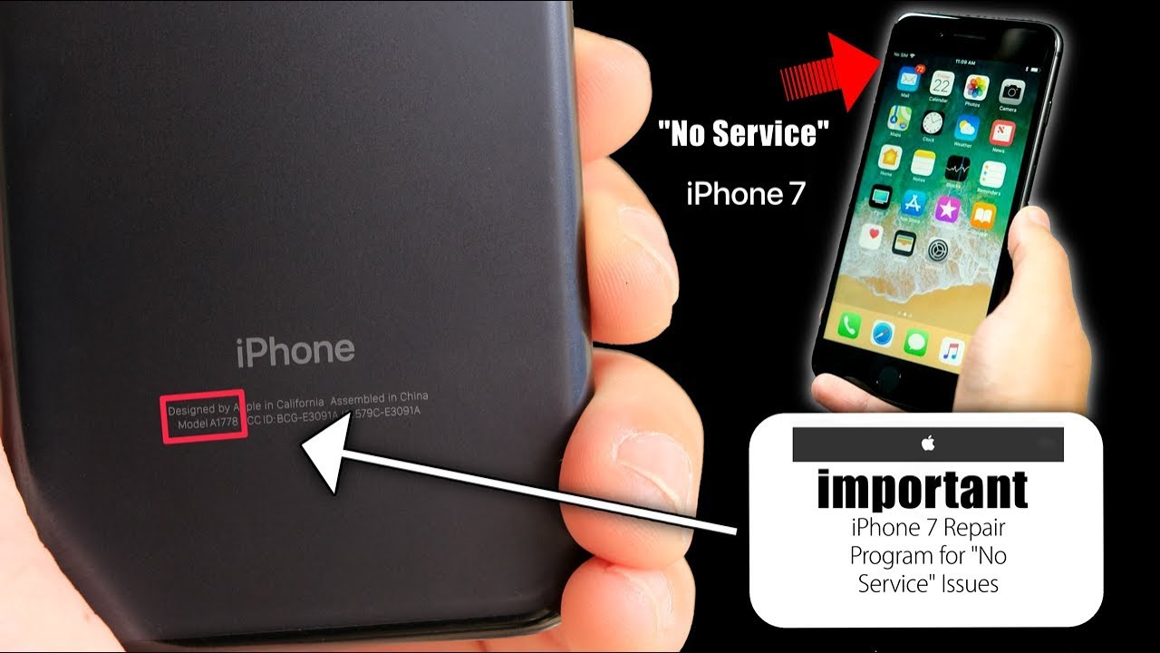 iphone no service important message for iphone 7 owners apple no service 3714