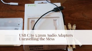 USB C to 3.5mm Adapters Reviewed & Explained