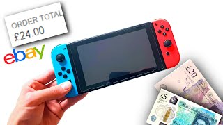 £24 Nintendo Switch! - Can I Fix It?