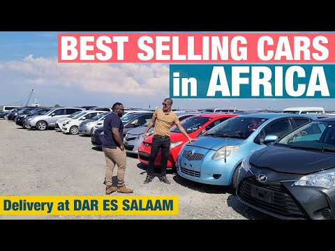 Best Selling Japanese Cars in AFRICA | Delivery at Dar Es Salaam Port