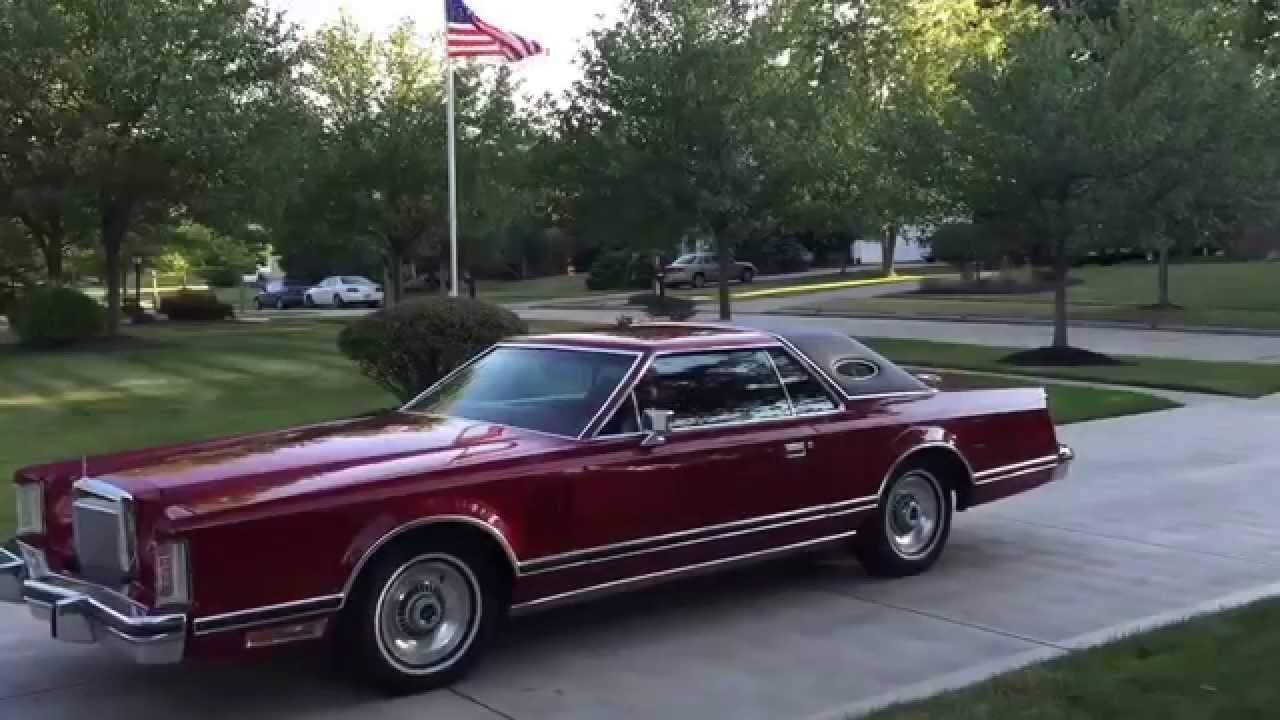 1979 Bill Blass Edition Lincoln Continental Mark V Cars American 79 Wiring Diagram