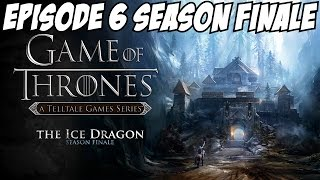Game of Thrones Episode 6 Gameplay Walkthrough Part 1 Asher & Rodrik Season Finale w/ all Endings