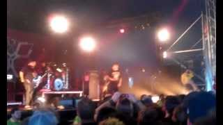 P.O.D. Boom @ Download Festival 2013