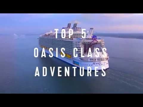 Royal Caribbean Top 5: Adventures On Oasis Class Ships