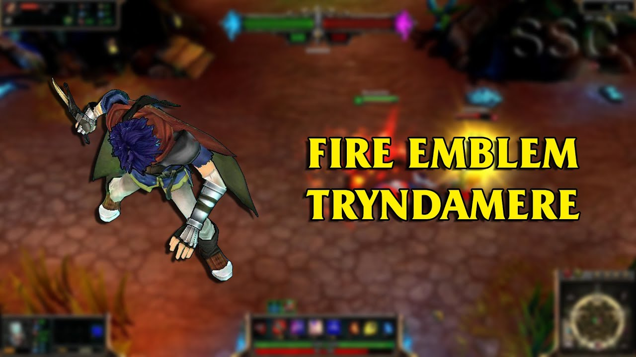 fire emblem ike tryndamere lol custom skin showcase youtube. Black Bedroom Furniture Sets. Home Design Ideas