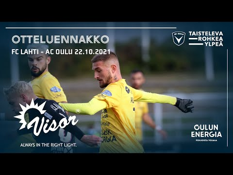 ACOTV: Visor otteluennakko FC Lahti - AC Oulu 22.10.2021 (Veikkausliiga)