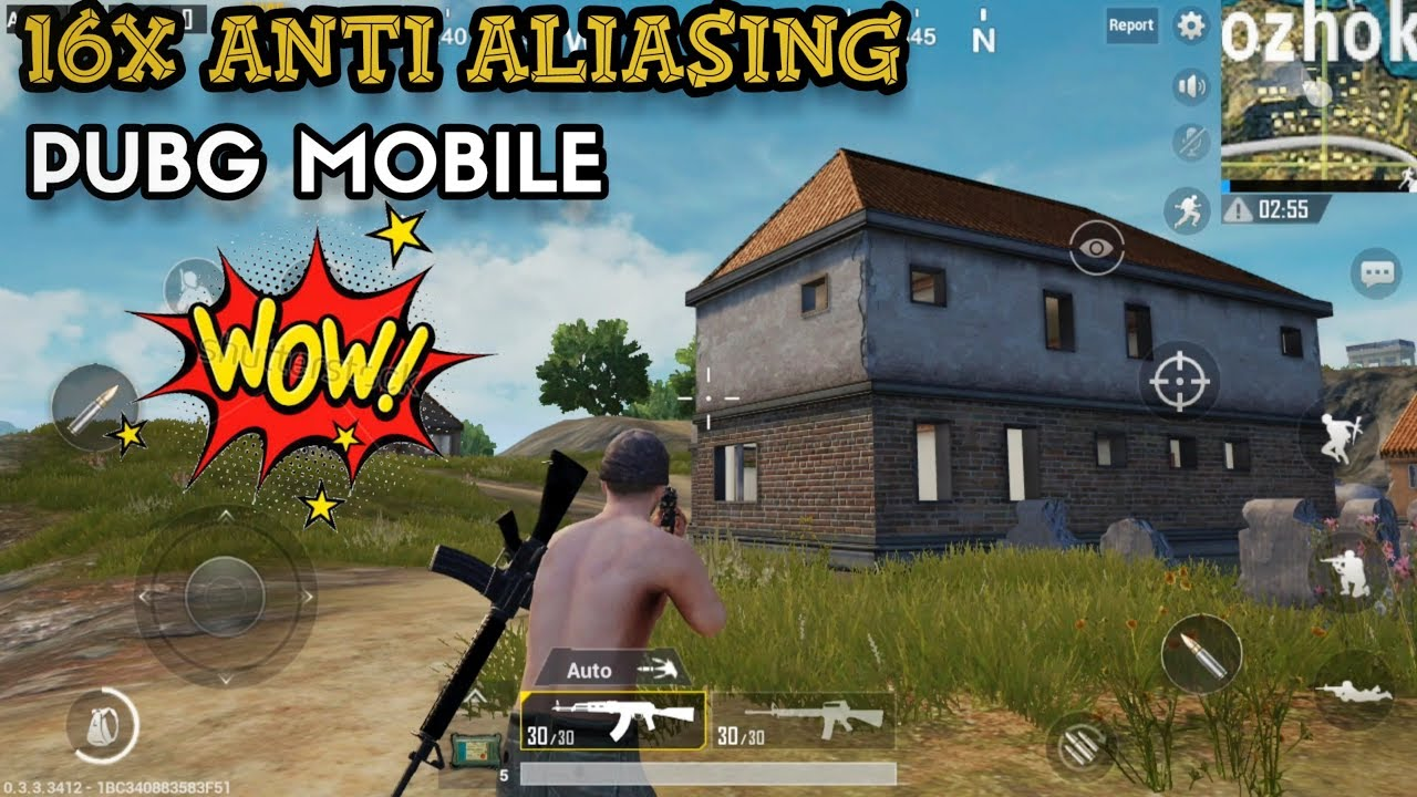 16x Anti-Aliasing in PUBG mobile 😮 | SMOOTH EDGES BETTER ULTRA HD GRAPHICS