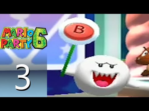 Mario Party 6 - Snowflake Lake [Part 3]