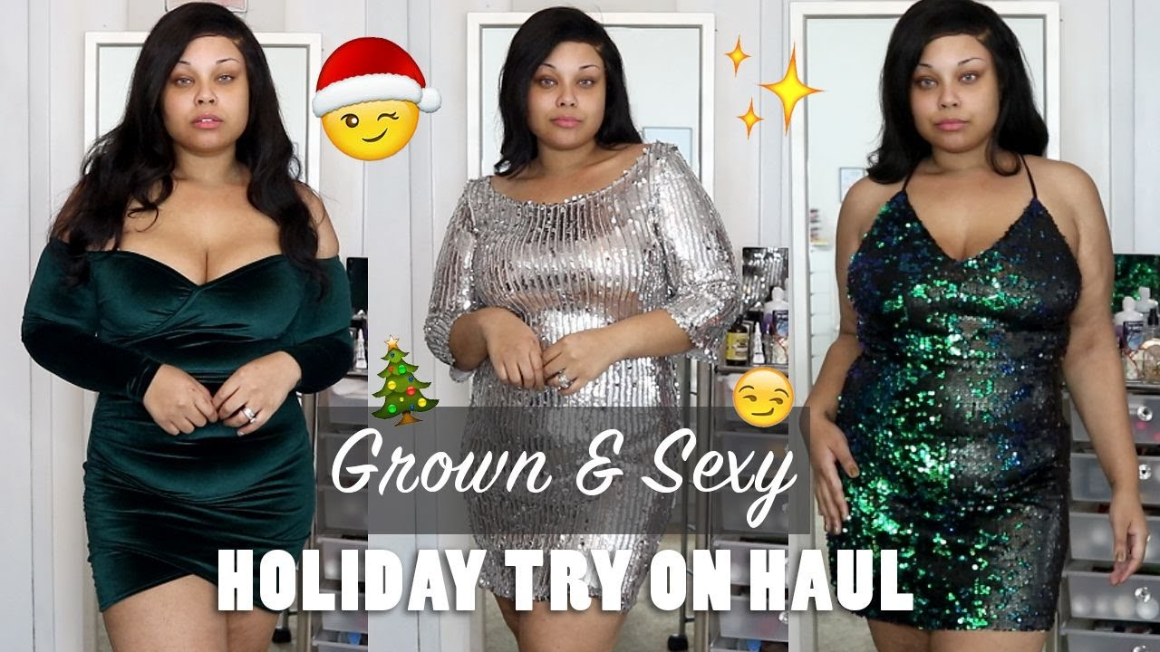 aac7c1a9e0ad PLUS SIZE / BODY POSITIVE / CURVY BOOHOO HOLIDAY TRY ON HAUL COLLAB WITH  DAQUANA WHITE !!