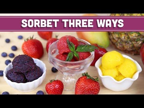 Mixed Fruit Sorbet