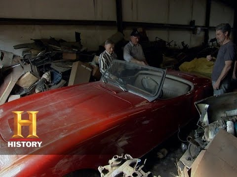 American Pickers Rare Nash Healey Collection History Youtube