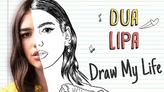 Baixar DUA LIPA | Draw My Life