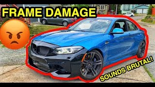 I Bought a Damaged BMW M2 From Salvage Auction It WAS WORSE THAN I THOUGHT