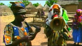 Frédéric Galliano with Hadja Kouyaté - Alla Cassi Magni (Official Video by Frédéric Galliano - 2002)