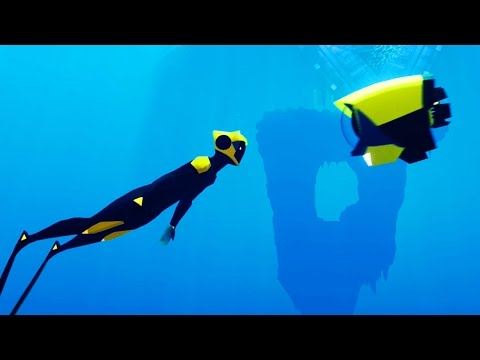MOST BEAUTIFUL UNDERWATER GAME?! - ABZU Gameplay Part 1 | Pungence