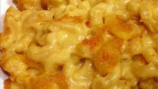 Baked Mac And Cheese From Scratch, Cooking With Maw Kitty