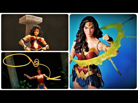 Wonder Woman Action Figure Collection & Custom Display Diora