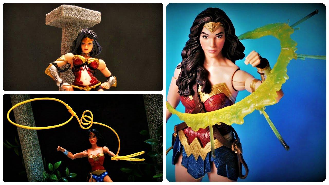 Wonder Woman Action Figure Collection & Custom Display Diorama