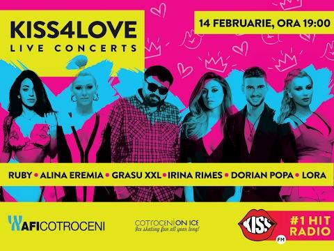 KISS4LOVE LIVE CONCERT @ AFI COTROCENI, 14 FEBRUARIE 2017