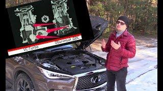 Убийца дизеля: тестируем первый мотор переменного объема на Infiniti QX50