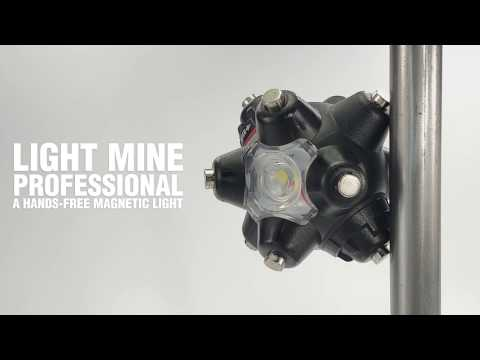 Light Mine Professional - A Magnetic, Hand-free, LED Flashlight By STKR Concepts