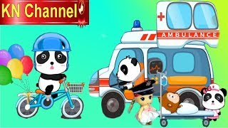 Trò chơi KN Channel BÚP BÊ LÀM NGHỀ TRÊN CÁC LOẠI PHƯƠNG TIỆN GIAO THÔNG | GIÁO DỤC MẦM NON