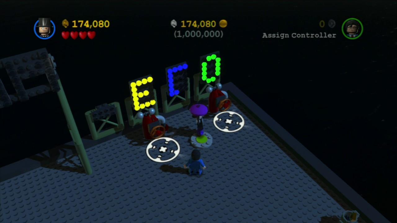 LEGO Batman 2 (PS3) Bonus Level 100% Walkthrough - Lego ...