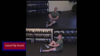 Lateral Hip Stretch - Force Fitness