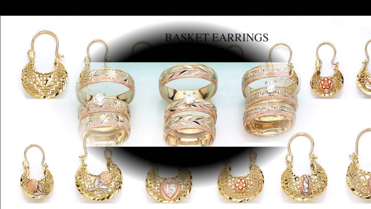 GOLD CATALOG 2013-2014 KING OF EARRINGS - YouTube