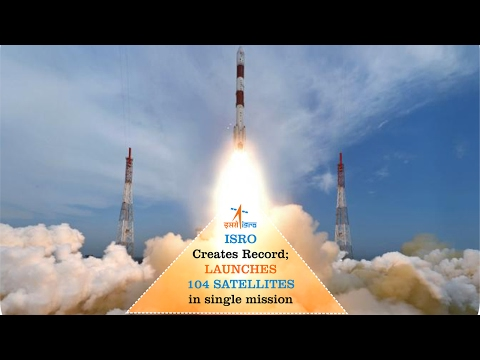 ISRO Sets World Record | Successfully Launch 104 Satellites | PSLV C37 launch