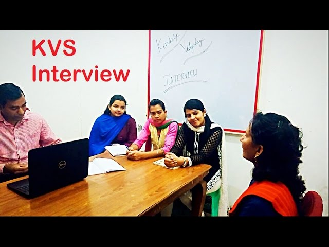kvs interview video